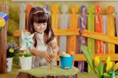 Girl in a fairy tale Royalty Free Stock Photos