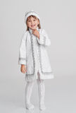Girl in fancy dress Royalty Free Stock Photography