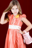 Girl fashionista Royalty Free Stock Images