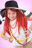 Girl-fashionista Royalty Free Stock Images