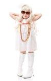 Girl-fashionista Royalty Free Stock Photo