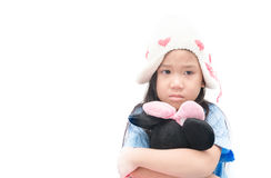 Girl feeling alone sad, crying or lonely  Royalty Free Stock Image