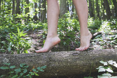 Girl feet Royalty Free Stock Image