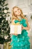 Girl in festive dress Royalty Free Stock Photo