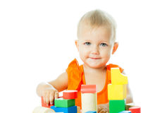 Girl of fifteen months old Stock Images