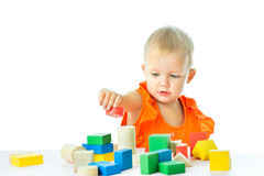 Girl of fifteen months old Royalty Free Stock Image