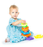 Girl of fifteen months old Royalty Free Stock Photography