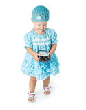 Girl of fifteen months old Stock Photography