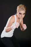 Girl fighter Stock Photos