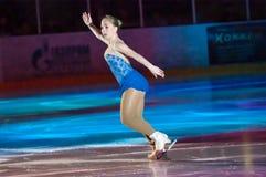 Girl figure skater Stock Photos
