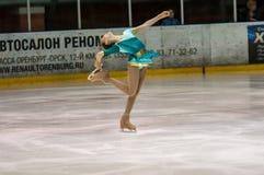 Girl figure skater, Royalty Free Stock Image