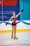 Girl figure skater, Orenburg, Russia Royalty Free Stock Photography
