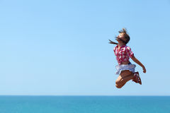 Girl in flight Royalty Free Stock Photography