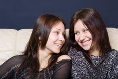 Girl-friend Royalty Free Stock Photos