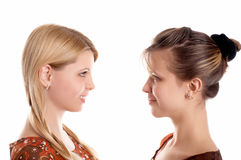 Girl-friends Royalty Free Stock Photography
