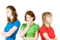 Girl Friends royalty free stock photography