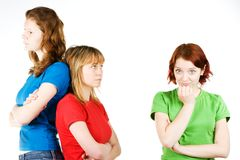 Girl Friends Royalty Free Stock Photos