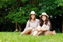 Girl friends Stock Image