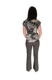 Girl From The Back. Royalty Free Stock Photos