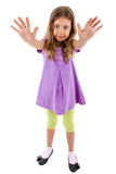 Girl full body Royalty Free Stock Photo