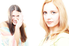 Girl fun Stock Photography