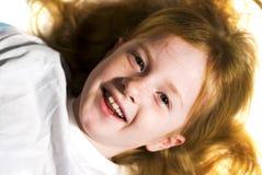 Girl with fun stock image