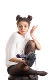 Girl gamer Royalty Free Stock Photo
