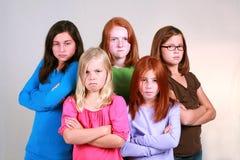 Girl Gang Stock Image