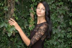 Girl in garden Stock Photography