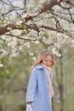 Girl in the garden Stock Photography