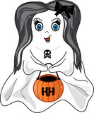 Girl Ghost Stock Photo