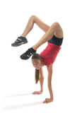Girl gimnast Stock Photo