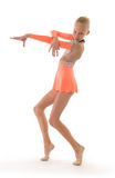 Girl gimnast Stock Photos