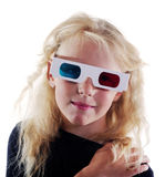 Girl with glasses. Stock Photo