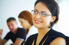 Girl in the glasses Stock Image