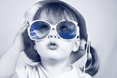 Girl in glasses Stock Photo