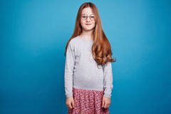 Girl in the glasses Royalty Free Stock Image
