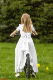 Girl going to the first holy communion. Girl on the day of Holy Communion Stock Photography