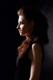 Girl in gothic style  Royalty Free Stock Photography