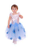 Girl in gown Stock Images