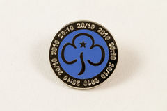 Girl Guiding Badge Stock Image