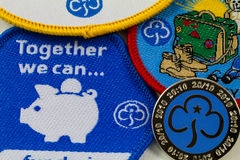 Girl Guiding Together We Can Royalty Free Stock Photos