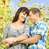 Girl and guy stock photos