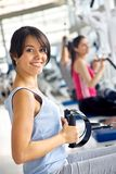 Girl at the gym Stock Photography
