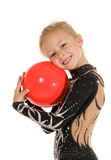 Girl gymnast Stock Image