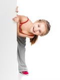 Girl gymnast Stock Photography