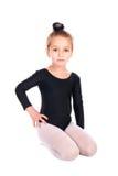Girl gymnast Royalty Free Stock Photo
