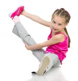 Girl gymnast Stock Photos