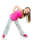 Girl gymnast Stock Photo