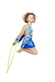 Girl gymnastic Stock Photography